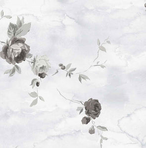 Black Rose Wallpaper Peel and Stick MD20720