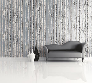 tree wallpaper gray silver