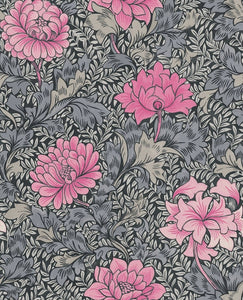 Rose Pink Floral Wallpaper