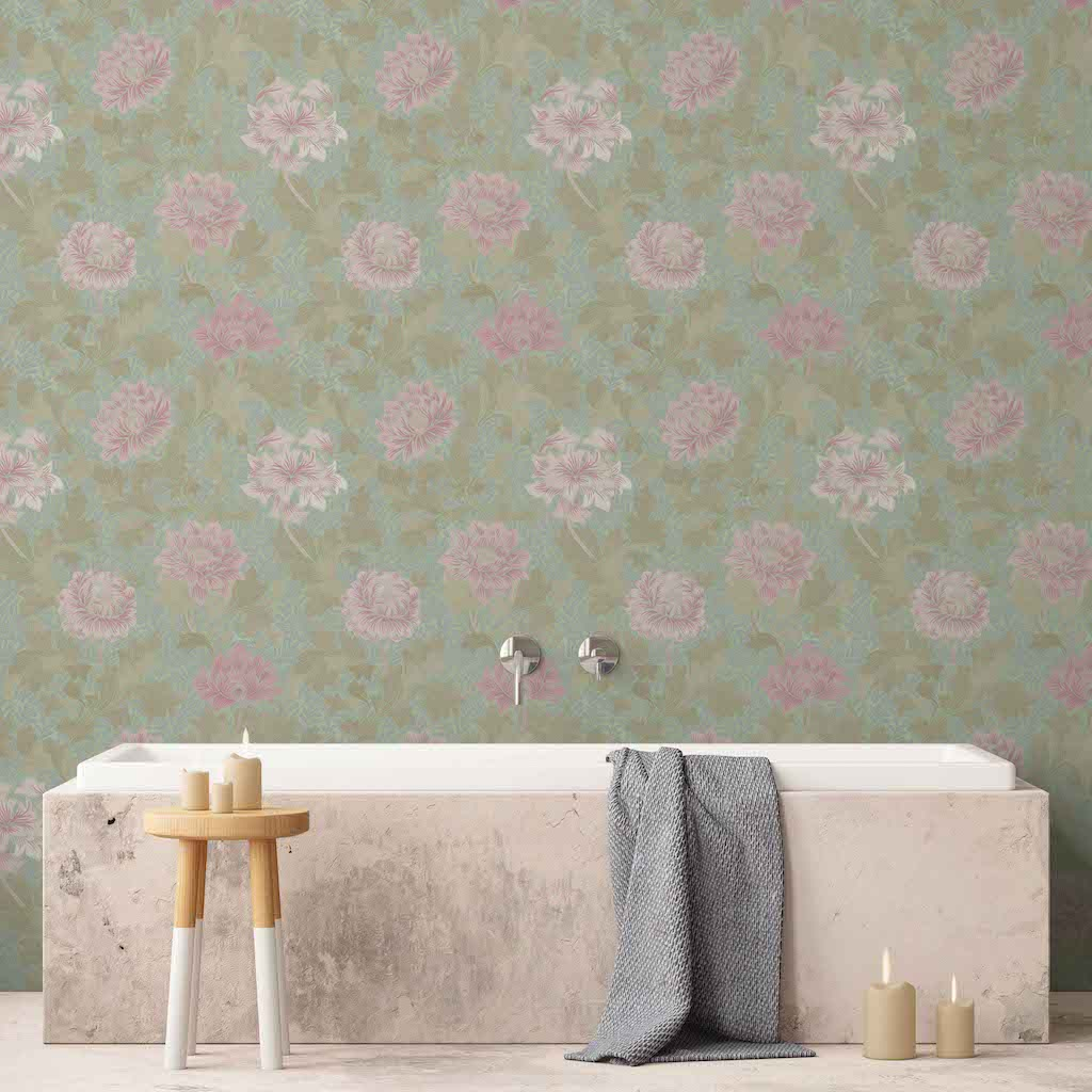 Morrissey Cherry Blossom Peel and Stick Wallpaper MD41210