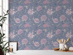 Morrissey Pink Flower Peel and Stick Wallpaper MD41202