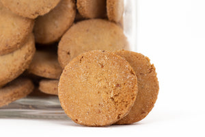 Cecino: the chickpea ginger-biscuit; vegan, bio, baked at low temperature