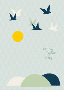 "Wish card choice: ""Enjoy your day"""