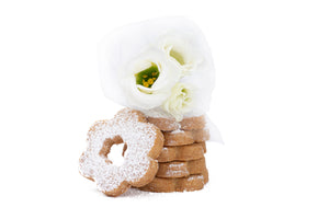Rusette are traditional wedding biscuits in the Italian region of Liguria.