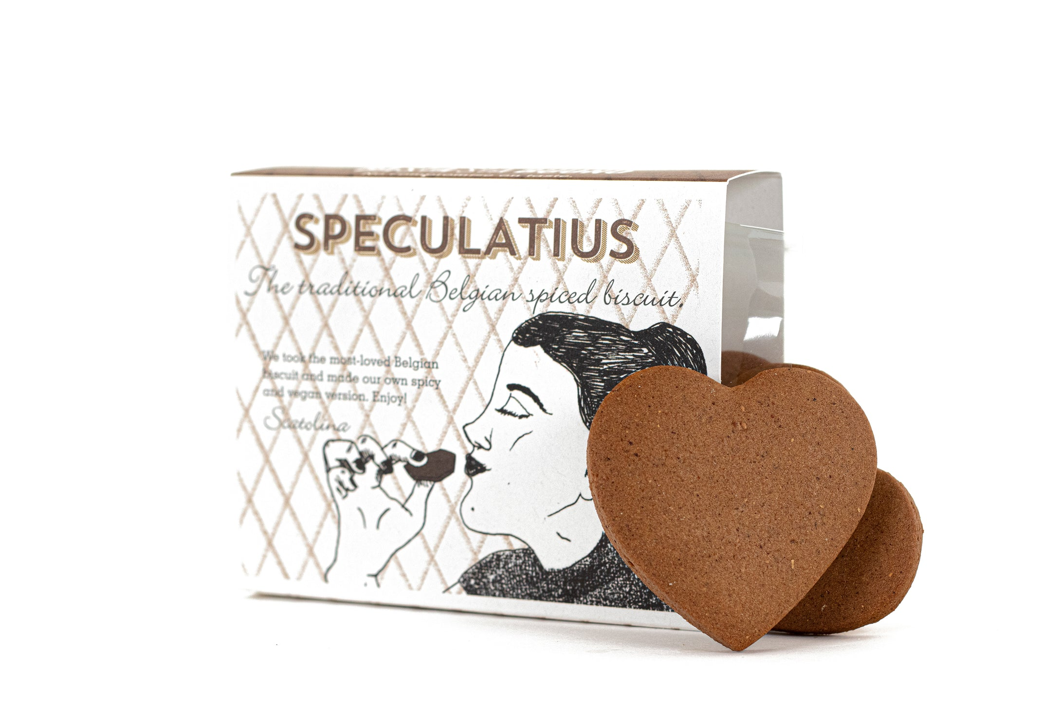 Vegan speculoos with our secret spicy mix