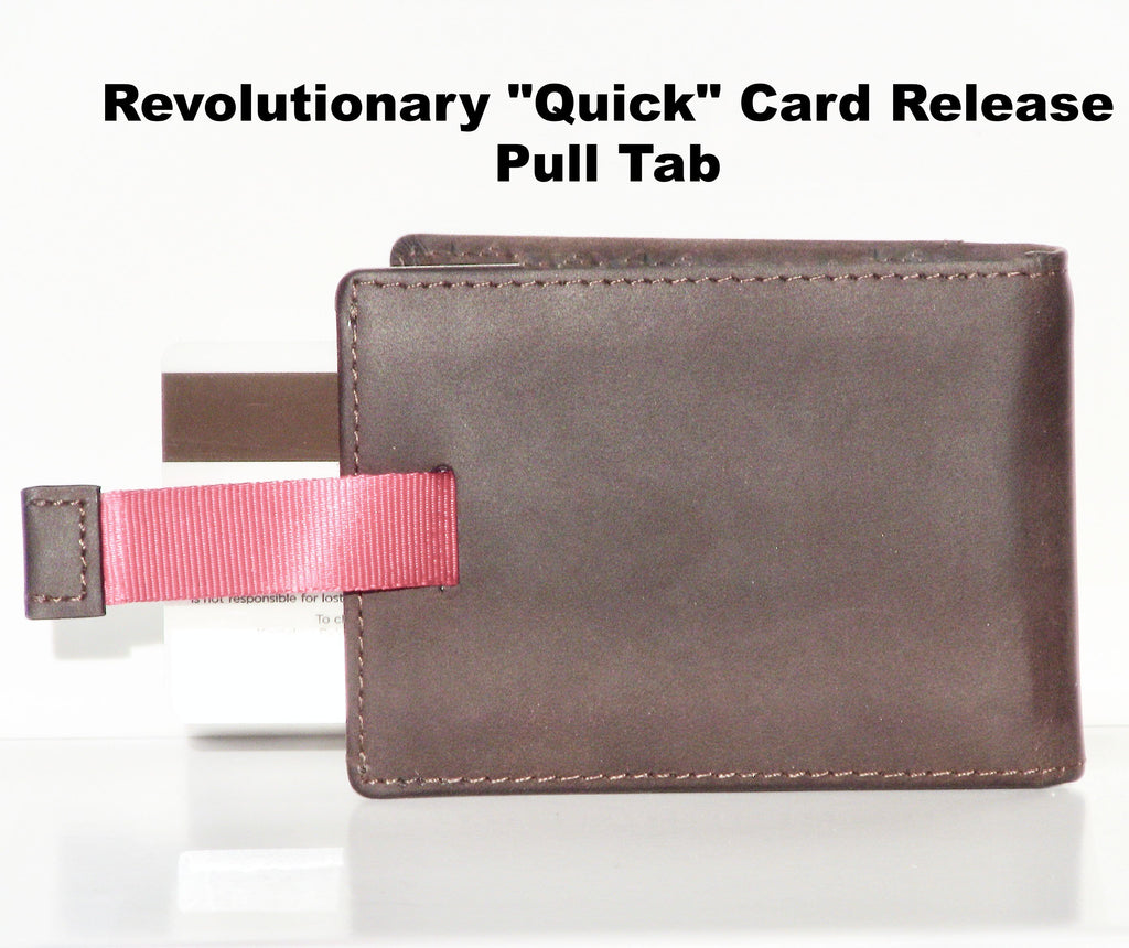 Ultra Thin Leather RFID Blocking Wallet by Aha Product: Premium Leather!