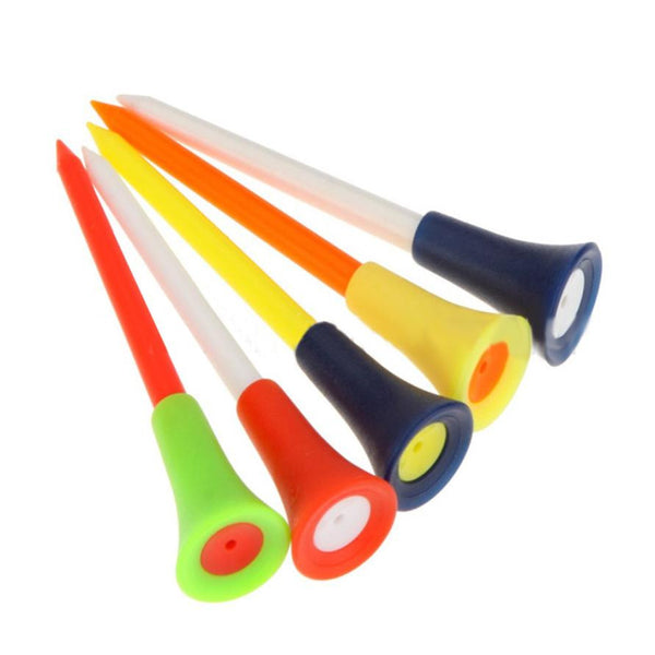 30PC Durable Rubber Golf Tees
