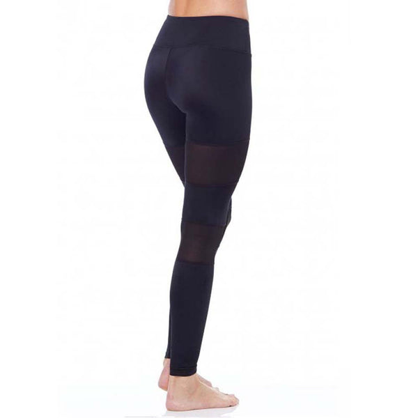 Mid-Waisted Sexy Skinny Push Up Yoga Pants: Patchwork Mesh, Aha Product
