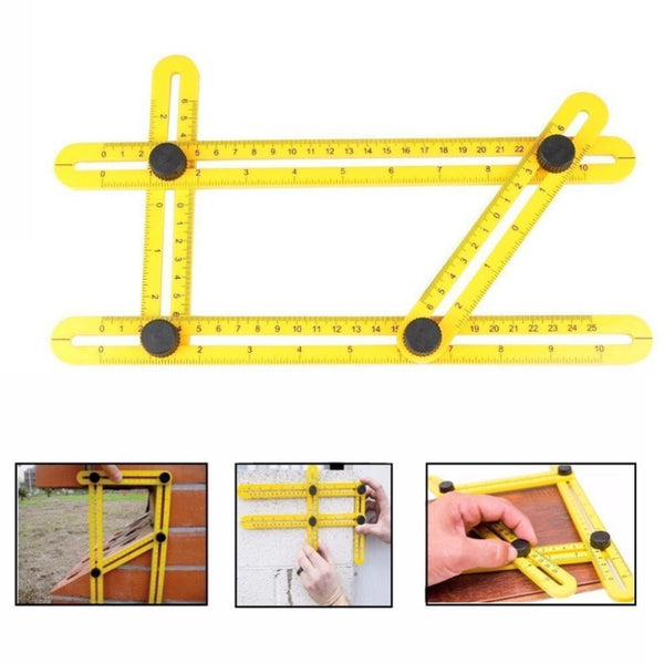 Angle-izer Template Tool Measuring Ruler by Aha Product