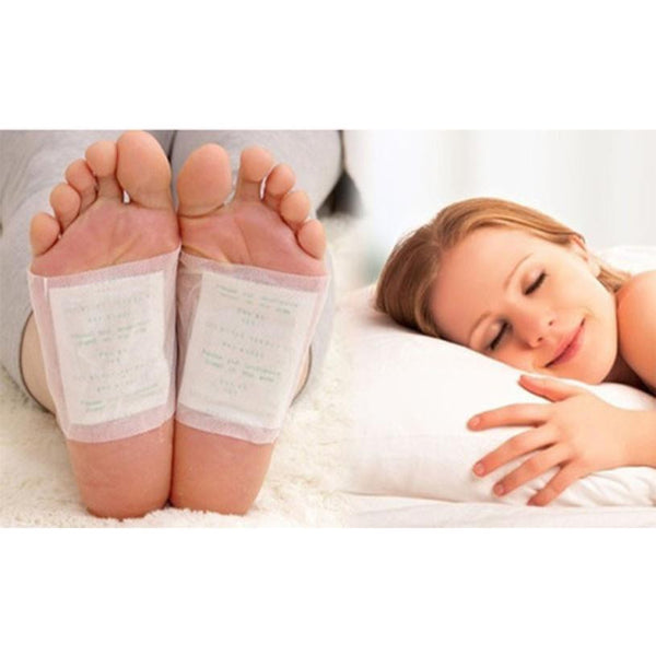 10pc Adhesive Sheet Foot Patch: Remove Toxins