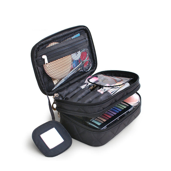 Waterproof Travel Cosmetic Bag- Toiletries Organizer: Aha Product