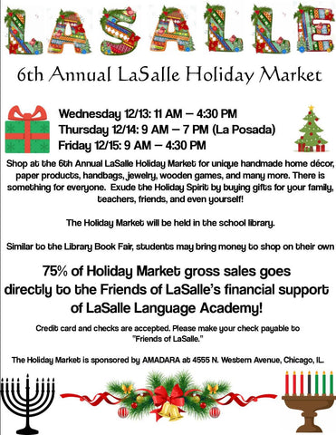 holiday market flyer lasalle language academy