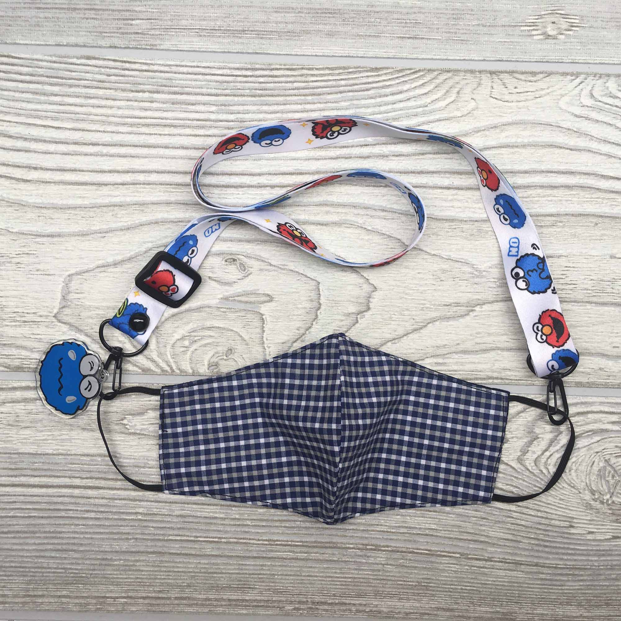 Face Mask Strap Holder Adjustable for Kids and Adults - Minnie Mouse