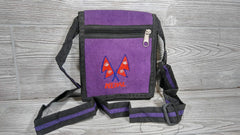 Small Purple Cotton Bag- Handmade in Nepal