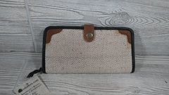 Hemp and Leather Wallet