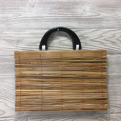 Natural Eco-Friendly Bamboo Handbag - XLarge Natural