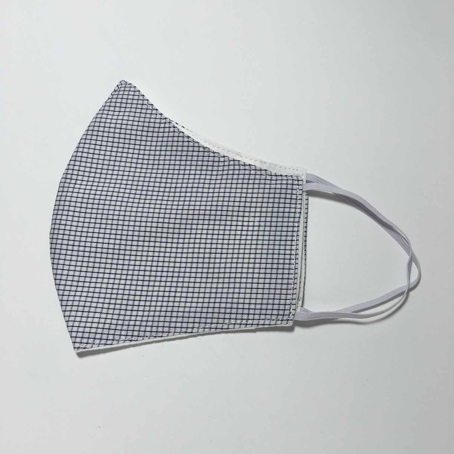 Handmade MEDIUM Cotton Face Masks with Filter Insert Pocket - 3D - F398