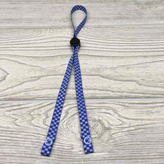 "Chic Face Mask Lanyard Holder Strap with Stopper 24"" - Solid Colors"