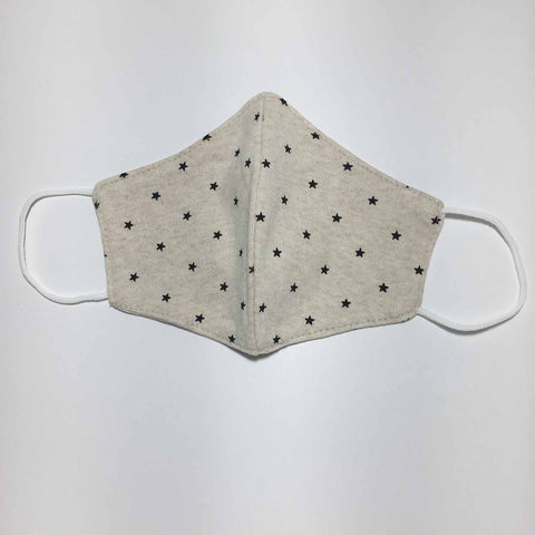 Handmade SMALL KIDS / Baby Cotton Knit Face Mask - KK101