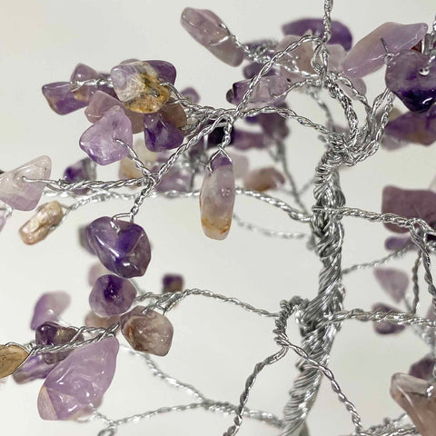 Feng Shui Gemstone Tree of Life - 150 Beads - Amethyst
