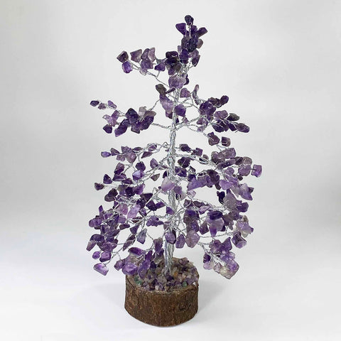 Feng Shui Gemstone Tree of Life - 300 Beads - Amethyst