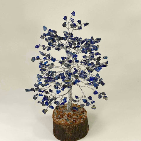 Feng Shui Gemstone Tree of Life - 300 Beads - Lapis Lazuli