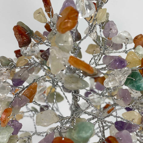 Feng Shui Gemstone Tree of Life - 300 Beads - Mix Gemstones