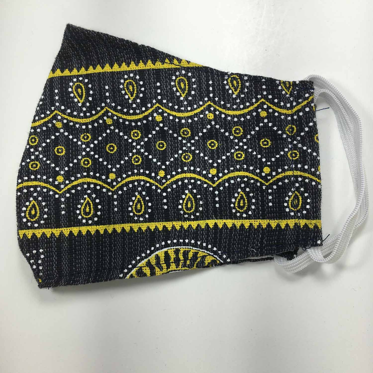 Handmade MEDIUM Cotton Face Masks - Ethnic Tribal - 459