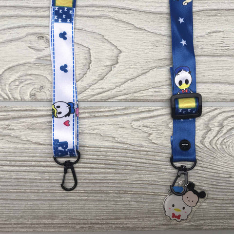 Face Mask Strap Holder Adjustable for Kids and Adults - Baby Donald Duck & Baby Daisy