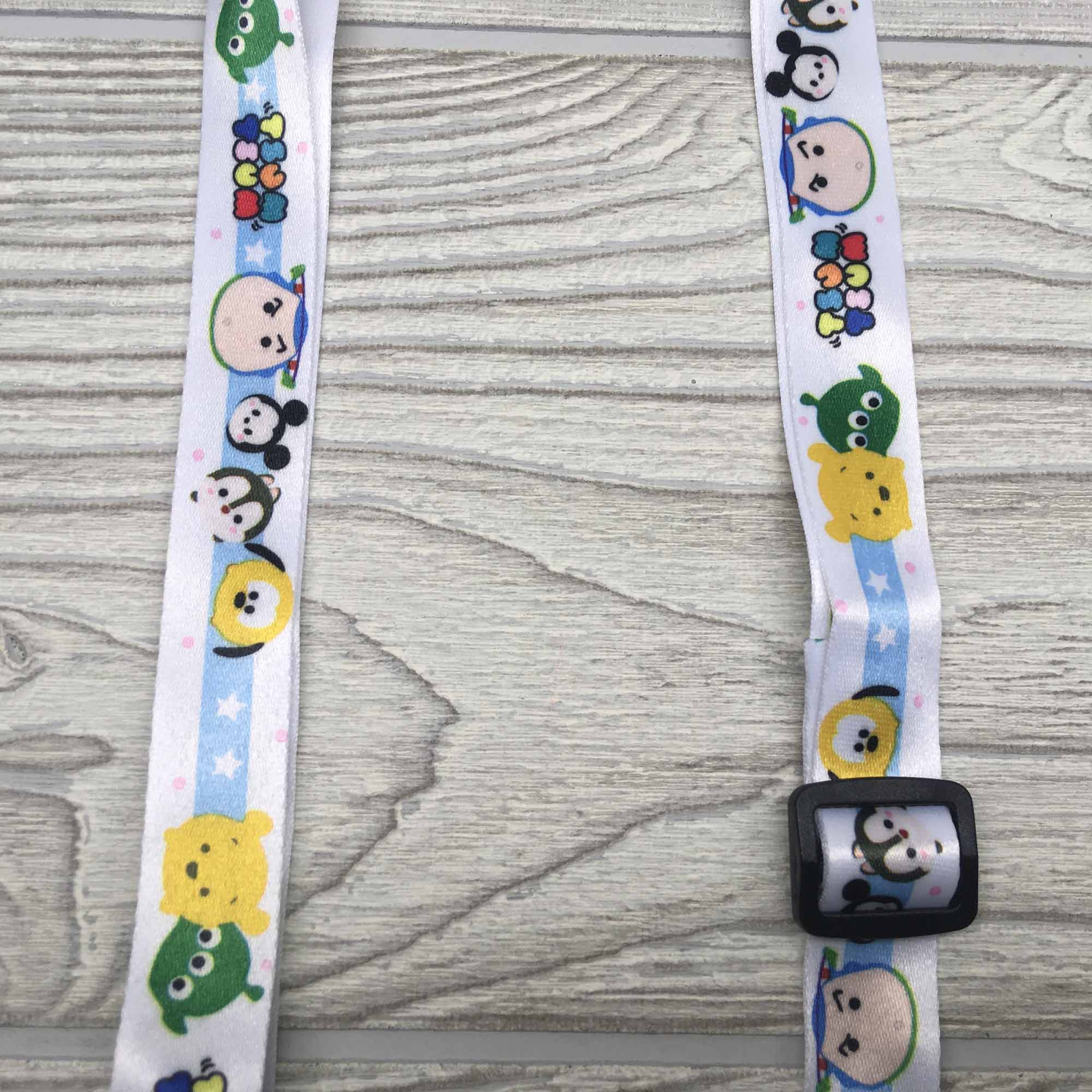 Face Mask Strap Holder Adjustable for Kids and Adults - Tsum Tsum