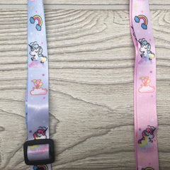 Face Mask Strap Holder Adjustable for Kids and Adults - Unicorn