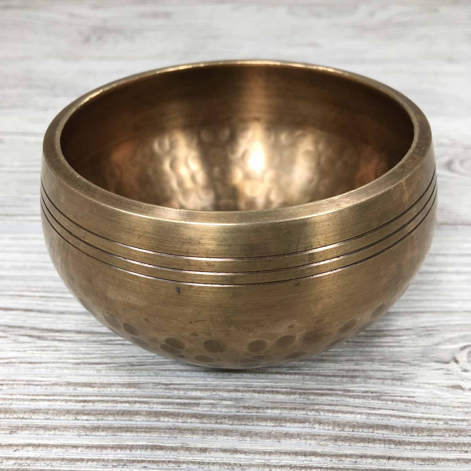 Singing Bowl - Hand Hammered - 3 1/2""