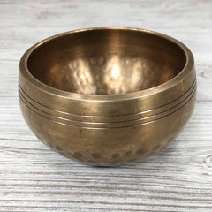 "Singing Bowl - 3 1/2"" - Hand Hammered"