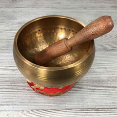 "Singing Bowl - 4"" - Hand Hammered"