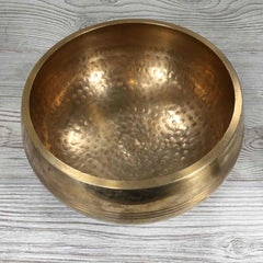 "Singing Bowl - 7"" - Hand Hammered"