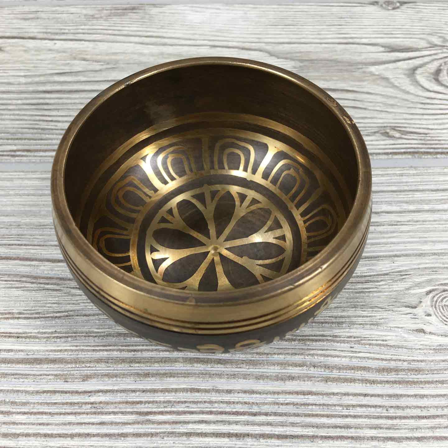 "Singing Bowl - 3 1/2"" - Lotus"
