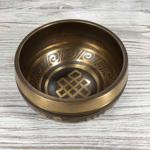 "Singing Bowl - 3 1/2"" - Eternal Knot"