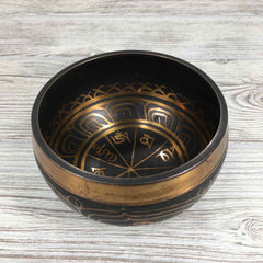 Singing Bowl - Etched Om Mani Padme Hum - 4""