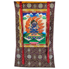 Hand Painted Thangka - Mahakala