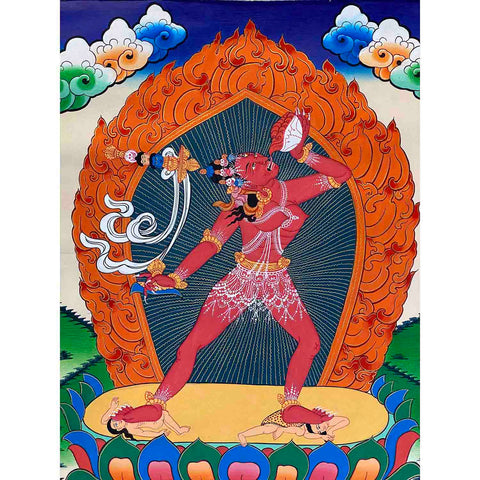 Hand Painted Thangka - Dakinis