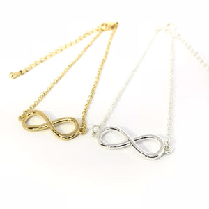 Infinity forever bracelet in gold/silver - matching jewelry