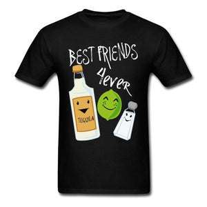 Funny Best Friends Forever Tequila Lime Salt T-Shirt