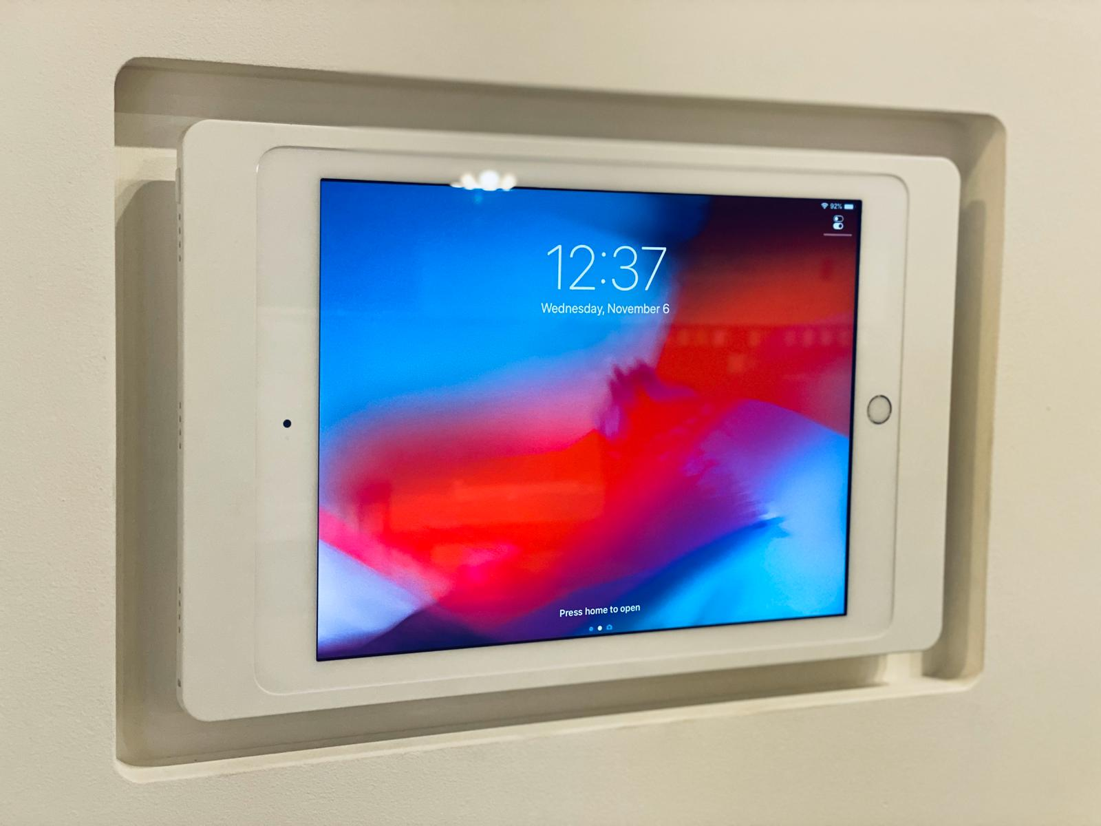 Flush Mount iPads & Smarthome Tablets: SeeLess Solutions