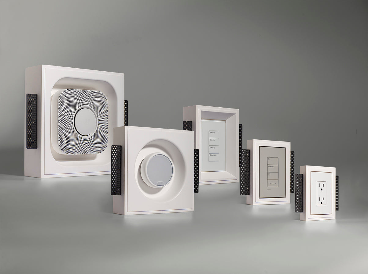 Plaster Flush Wall Mounts Made Easy with SeeLess