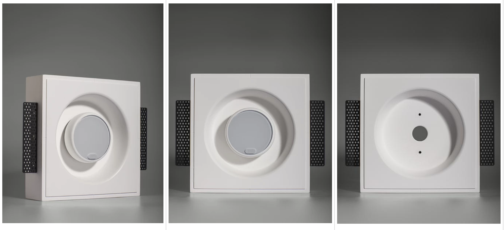 Nest Thermostat Flush Wall Mount