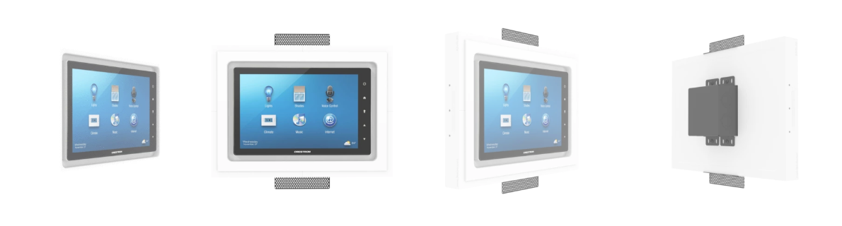 Flush Wall Mounts for iPads & Touch Panels