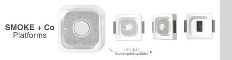 Plaster Flush Mount for Smoke Detectors - Shaped Nest Protect
