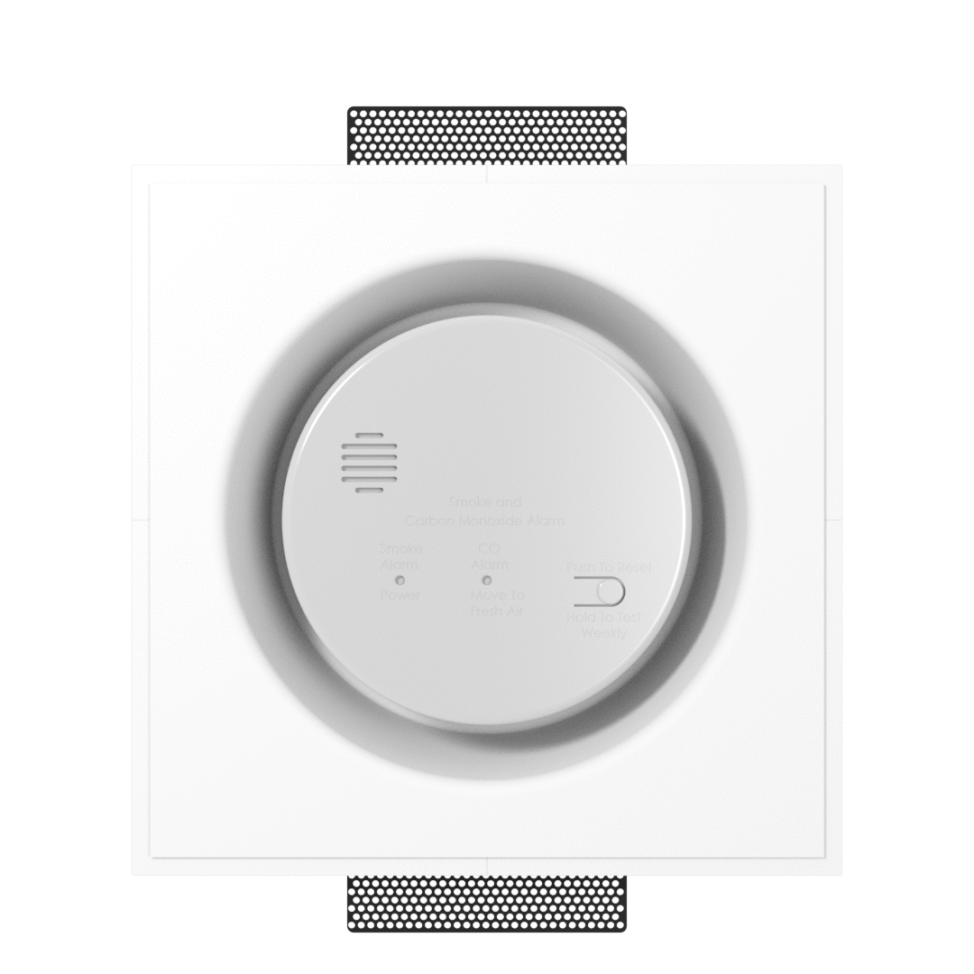 Flush Wall Mounts for Smoke Detectors: SeeLess Solutions