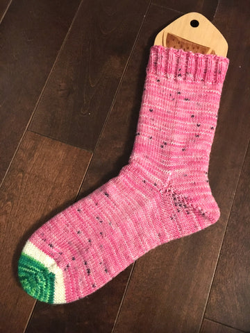 Watermelon Sock Wool
