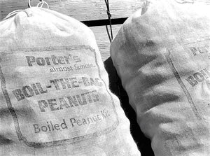 Boiled Peanuts - Porter's BOIL-THE-BAG Peanuts (4 bags)
